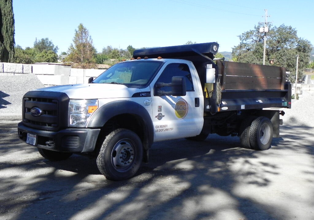 Ford F-550 Delivery Truck for iROC Landscape Supply